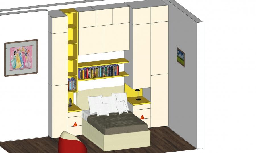 Cameretta with progetto cameretta for Progettare una cabina di tronchi online