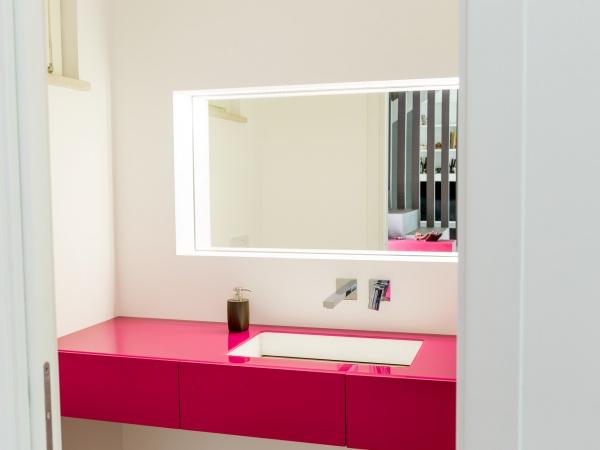 lavabo in krion rettangolare